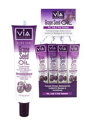 [Via Natural-box#74] Grape Seed Oil Tube (1.5oz/24pc/ds)