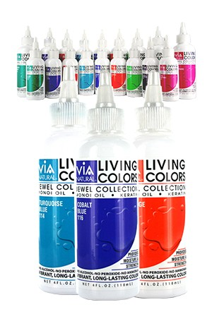 [Via Natural-box#68] Living Hair Color (4 oz)