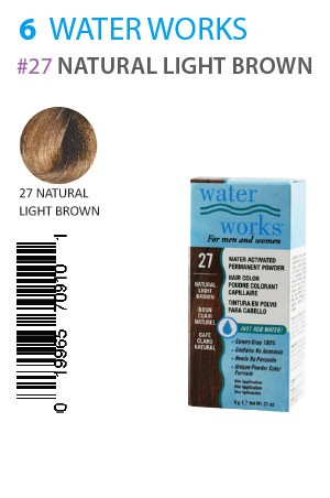 [Water Works-box#6] #27 Natural Light Brown (0.21oz)