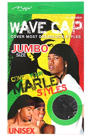 [Magic Collection #2242JBLA] Marley Style Wave Cap-dz