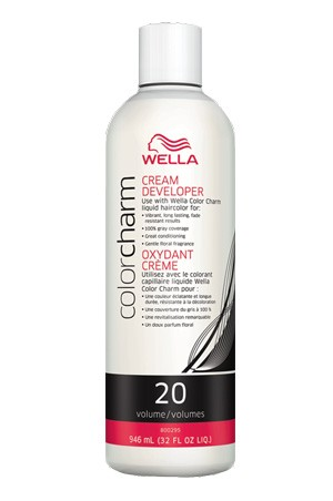 [Wella-box#10] Color Charm Creme Developer 20 Vol.(32oz)
