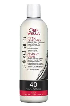 [Wella-box#11] Color Charm Creme Developer 40 Vol.(32oz)