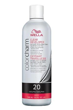 [Wella-box#12] Color Charm Clear Developer Vol.20 (32 oz)