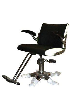 SALON CHAIR Y136 Black & White