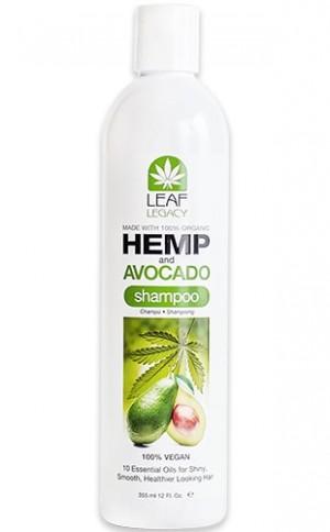 [Leaf Legacy-box#2] Hemp&Acocado Shampoo(12oz)