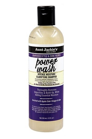 [Aunt Jackie's-box#32]Grapeseed Power Wash Shampoo (12oz)
