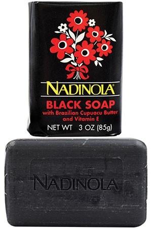 [Nadinola-box#17] Black Soap(3oz)