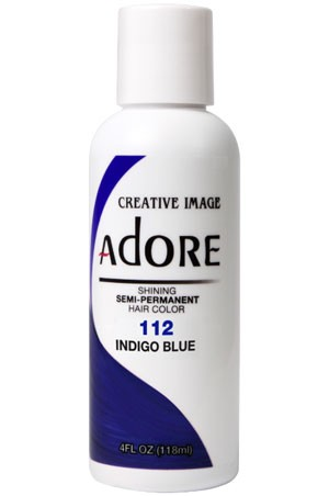 [Adore-box#1] Semi Permanent Hair Color (4 oz)- #112 Indigo Blue