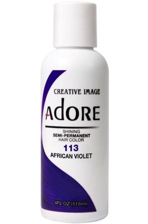 [Adore-box#1] Semi Permanent Hair Color (4 oz)- #113 Afican Violet