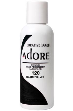 [Adore-box#1] Semi Permanent Hair Color (4 oz)- #120 Black Velvet