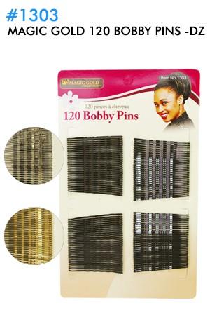 [Magic Gold-#1303] 120 Bobby Pins -dz