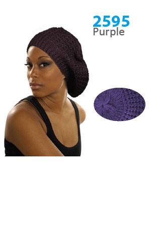 Winter Hat #2595 Purple - pc