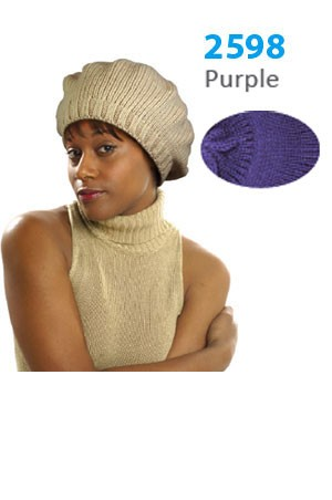 Winter Hat #2598 Purple - pc