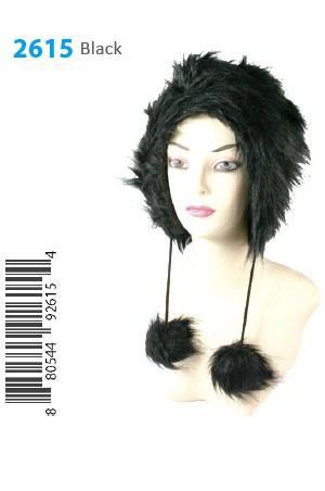 Winter Hat #2615BK - pc [Black]