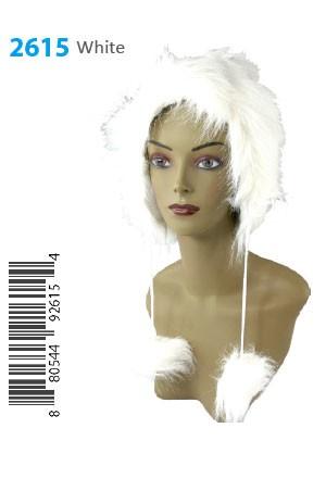 Winter Hat #2615White - pc [White]