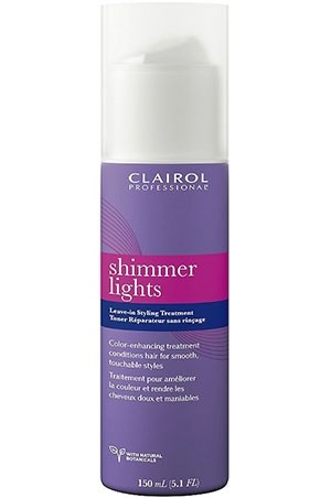 [Clairol-box#22] Shimmer Light Leave-In Styling Treatment(5.1oz)