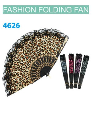 Magic Gold Fashion Folding Fan #4626-dz