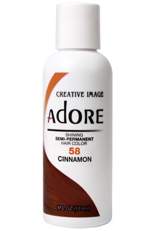 [Adore-box#1] Semi Permanent Hair Color (4 oz)- #58 Cinnamon