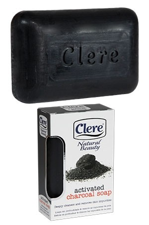 [Clere-box#5] Activated Charcoall Soap(5.2oz)