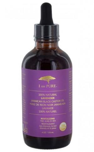 [I Am Pure-box#4] 100% Natural Jamaican Blk C. Oil-Lavender (4oz)
