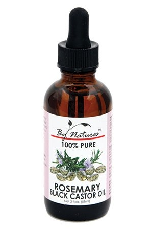 [By Natures-box #19] Black Caster Oil[Rosemary](2oz)