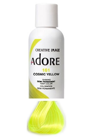 [Adore-box#1] Semi Permanent Hair Color (4 oz)- #161 Cosmic  Yellow