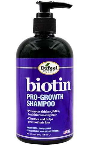 [Sunflower-box#94] Difeel Biotin Pro-Growth Shampoo(12oz)
