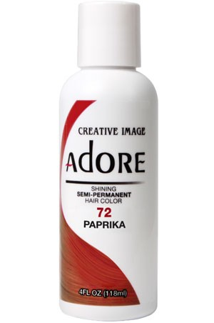 [Adore-box#1] Semi Permanent Hair Color (4 oz)- #72 Paprika