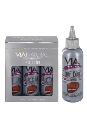 [Via Natural-box#20] Hair color (4 oz)