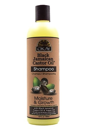 [Okay-box #62] African Black Jamican Caster Oil Shampoo(12oz)