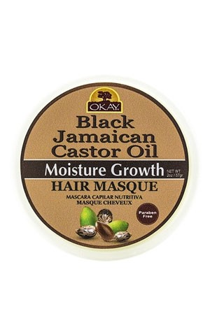 [Okay-box #65] African Black Jamican Caster Oil Hair Masque(2oz)