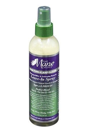 [The Mane Choice-box #37] Hair Type 4 Leaf Clover LeavIn Spary(8oz)