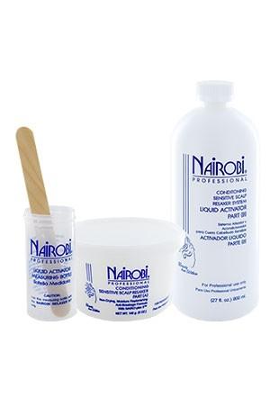 [Nairobi-box#6] Sensitive Scalp Relaxer Kit (20app)