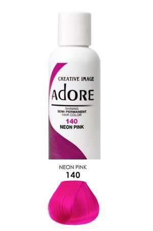 [Adore-box#1] Semi Permanent Hair Color (4 oz)- #140 Neon Pink