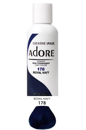 [Adore-box#1] Semi Permanent Hair Color (4 oz)- #178 Royal Navy