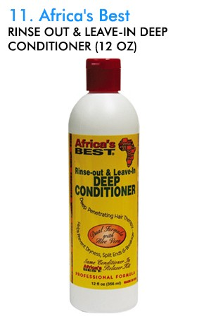 [Africa's Best-box#11] Rinse Out & Leave-In Deep Conditioner (12 oz)