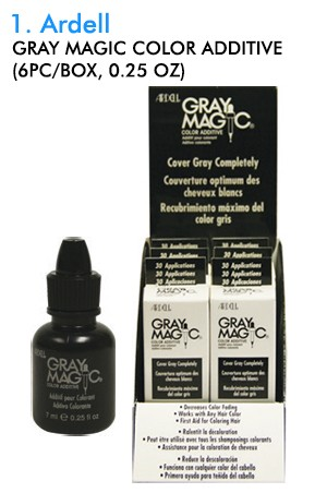 [Ardell-box#1] Gray Magic Color Additive (0.25oz/6ea/ds)