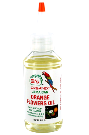 [B's Organic-box#18] Orange Flowers Oil_Hair&Scalp Revitalizer(4oz)
