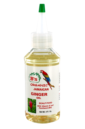 [B's Organic-box#17] Ginger Oil-Scalp Food (4oz)