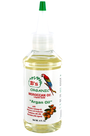 [B's Organic-box#4] oroccan Argan Oil (4oz)
