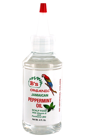 [B's Organic-box#14] Peppermint Oil_Scalp Food (4oz)