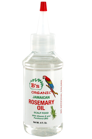 [B's Organic-box#15]  Rosemary Oil_Scalp Food (4oz)