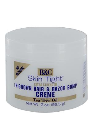[B&C Skin Tight-box#6]  In -Grown Hair&Razor Bump Creme-Ex(2oz)