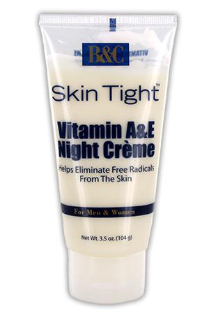 [B&C Skin Tight-box#7]  Vitamin A & E Night Creme (4oz)