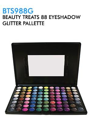 [BTS988G-box#21] Beauty Treats  88 Eyeshadow Glitter Pallette