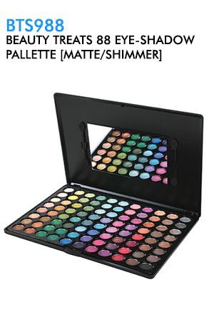 [BTS988-box#20] Beauty Treats 88 Eyeshadow Glitter Pallette [Matte/Shimmer]