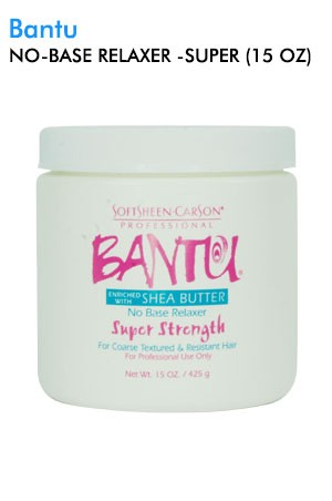 [Bantu-box#3] No Base Relaxer - Super (15 oz)