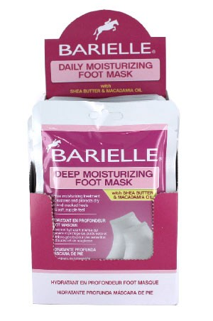 [Barielle] Daily Moisturizing Foot Mask (1 Set of Socks) -pk