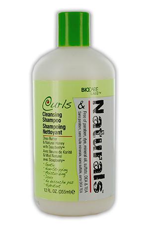 [Curls & Naturals-box#1] Cleansing Shampoo (12oz)