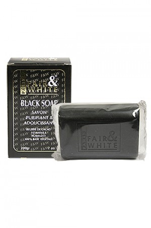 [Fair & White-box#2] Black Soap (200g)